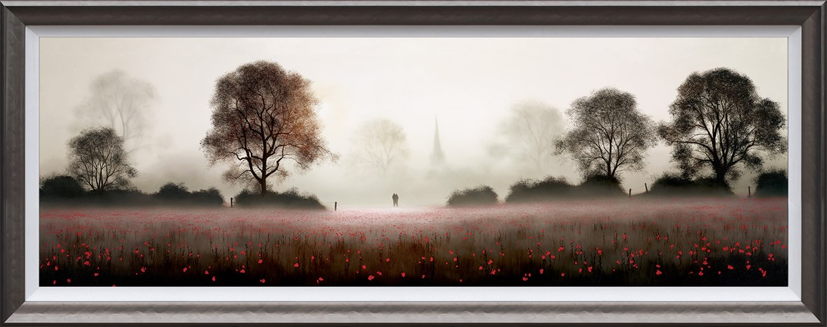 This Life We Share by John Waterhouse - Limited Edition on Paper sized 45x15 inches. Available from Whitewall Galleries
